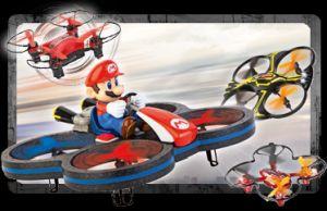 RC quadcopterji